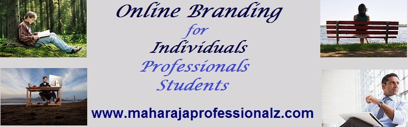 Online branding for individuals to help you in becoming an exceptional brand online to help you connect with your clients better using online media to promote market brand and sell your products services and organization online maharajaprofessionalz  maharaja professionalz  dr maharaja sivasubramanian