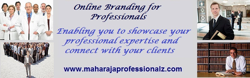 Online branding for professionals enabling you to showcase your professional expertise and to connect with your clients to help you in becoming an exceptional brand online to help you connect with your clients better using online media to promote market brand and sell your products services and organization online maharajaprofessionalz  maharaja professionalz  dr maharaja sivasubramanian